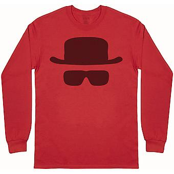 Heisenberg Mask - Mens Long Sleeve T-Shirt