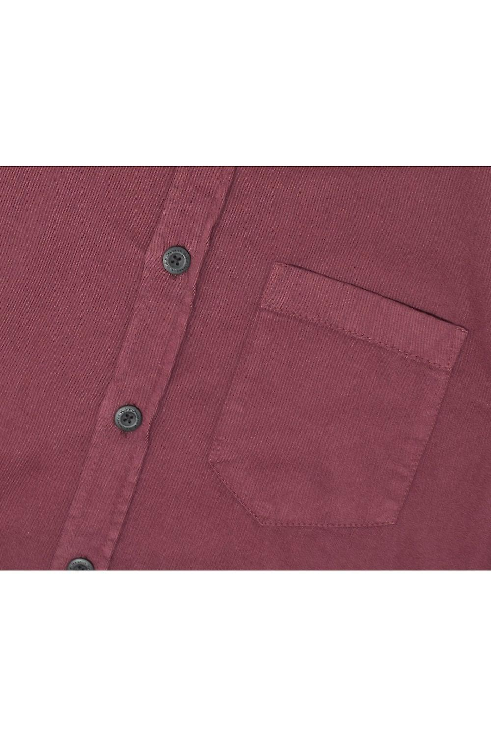 Nudie Jeans Co Henry Pigment Dyed Long-Shirted Shirt (Fig)