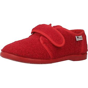 Vulladi Shoes Girl Home 1807 052 Red Color