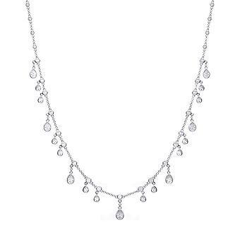 Diamonfire Multi Drop Cubic Zirconia Necklace N4339