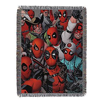 Woven Tapestry Throws - Dead Pool - We Are All Here New 024127