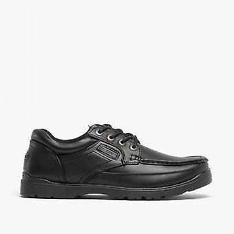ONS Brass Stubby mens Lace-up casual schoenen zwart