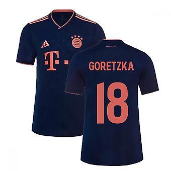 2019-2020 Bayern Munich Third Shirt (GORETZKA 18)