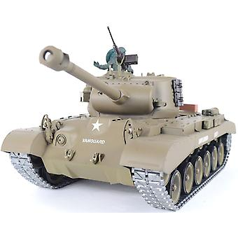 1/16 M26 Pershing Snow Leopard RC Panzer - Pro-Version brennen