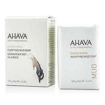 Ahava Deadsea Mud Purifying Mud Soap - 100g/3.4oz