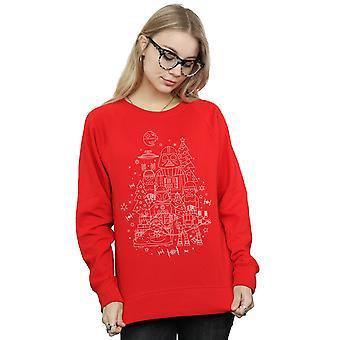 Star Wars Women's Empire Christmas Sweatshirt