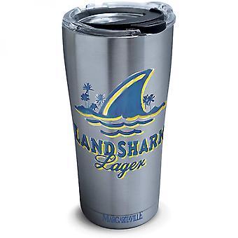 Landshark 20 Ounce Stainless Steel Travel Mug