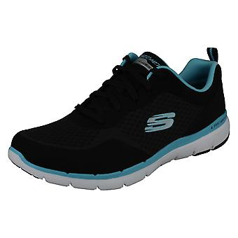 Ladies Skechers Casual Trainers Flex Appeal 3.0 Go Forward 13069