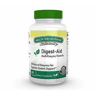 Digest-Aid Enzyme Complex (60 Capsules) - Health Thru Nutrition
