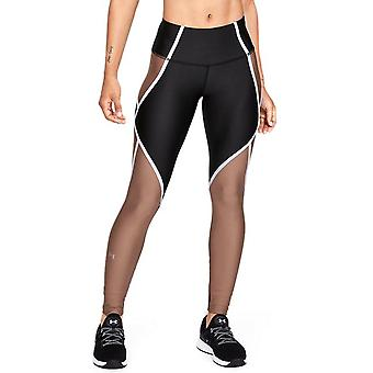 Under Armour HeatGear Armour Edgelit kvinner kompresjon grunnlag legging svart