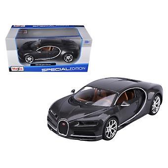 Bugatti Chiron Gris 1/24 Diecast Modelo Coche por Maisto