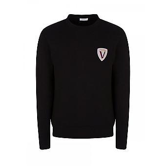 Versace Collection Cotton Black Sweatshirt