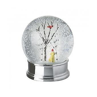 Himmelen sender julen Labrador Snowglobe