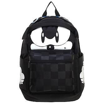 Sonic The Hedgehog Black Backpack