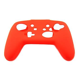 Protective skin for nintendo switch pro controller soft silicone bumper case - red | zedlabz