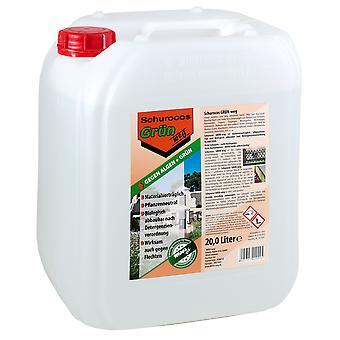 SCHUROCO® GRÜN-weg, 20 Liter