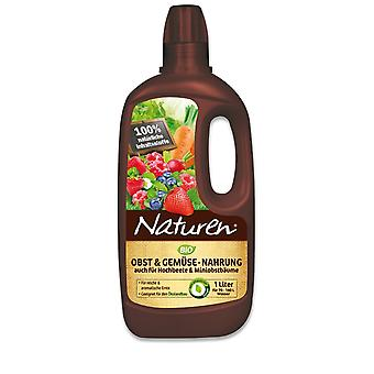 SUBSTRAL® Naturen®  Obst & Gemüse Nahrung BIO, 1 Liter