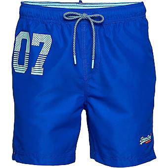 Superdry Waterpolo Swim Shorts Blå 47