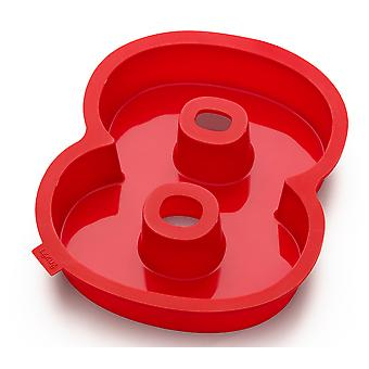 Lekue Number 8 Silicone Cake Mould