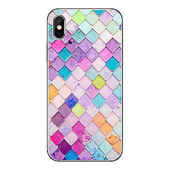 Mobile shell for iPhone11 mermaid multicolored