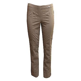 ROBELL Robell Taupe Trouser Marie 51412 54554 18