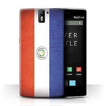 STUFF4 Case/Cover for OnePlus One/Paraguay/Paraguayan/Americas Flag