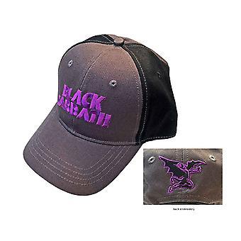 السبت الأسود البيسبول كاب كلاسيك ماج باند شعار الرسمية 2 لهجة رمادي ة Strapback