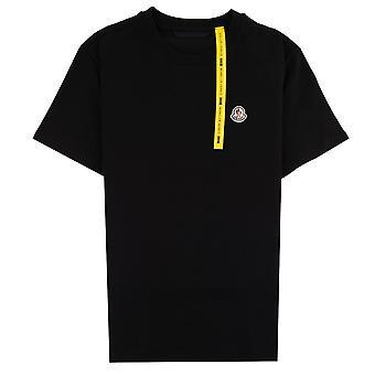 Moncler Genius 1952 X Awake NY Logo-embroidered T-shirt Black 999