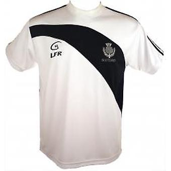 Scotland Thistle Embroidered Live for Rugby T Shirt