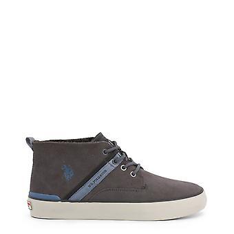 ארה ב פולו Assn. גברים מקוריים סתיו/נעלי חורף-אפור צבע 37545