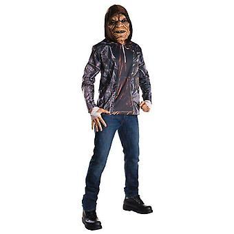 Rubie's Men's Suicide Squad Killer Croc Costume Kit
