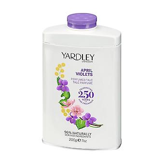 Yardley London Talcum Puder April Veilchen 200 g