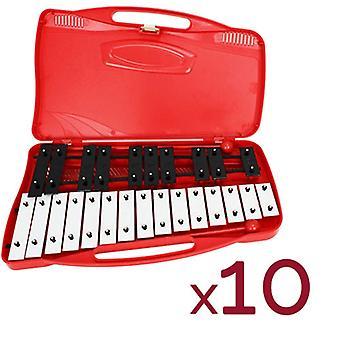 A-Star 25 Note Chromatic Glockenspiel - 10 Pack