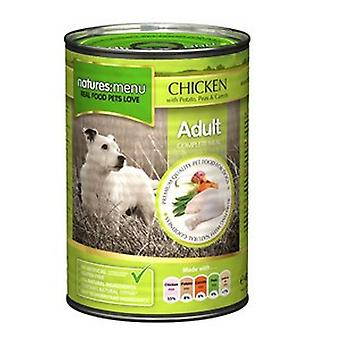 Natures Menu Chicken and Vegetable Wet Dog Food (12 Tins)