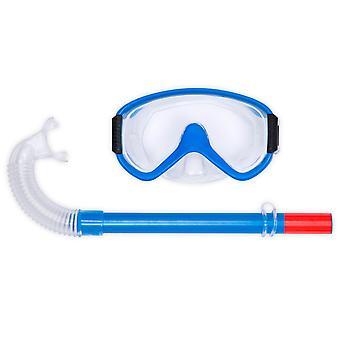 Sports Mask & Snorkel Set Assorted Colours.