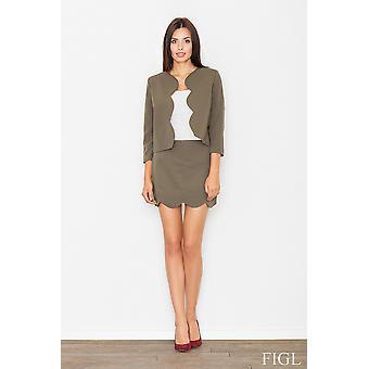 Olive figl jackets & coats