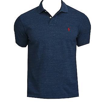 Ralph lauren men's blue heather polo shirt