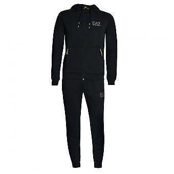 EA7 Men's Black Tracksuit