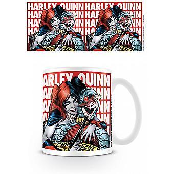 Batman Harley Quinn Hostage Mug