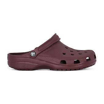Crocs Classic 10001BURG Universal Sommer Herrenschuhe