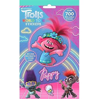 700st Trolls Poppy Barb Stickers Set Stickers
