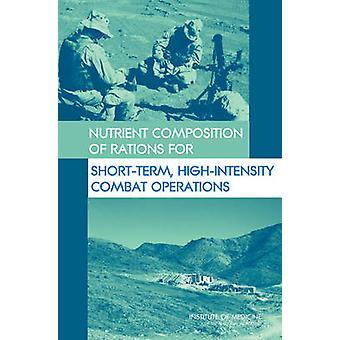 Nährstoffzusammensetzung von Rationen für Kurzzeit - High-Intensity Comba