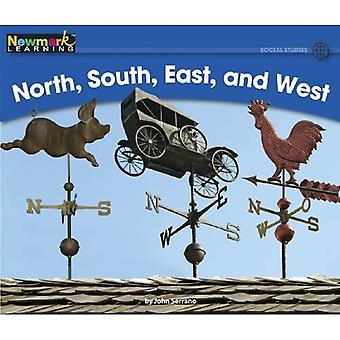 North, South, East, and West Leveled Text (Rising Readers)