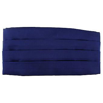 Michelsons of London Satin Silk Cummerbund - Royal Blue