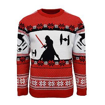 Officiële Star Wars Kylo Ren kerst Jumper / lelijke trui
