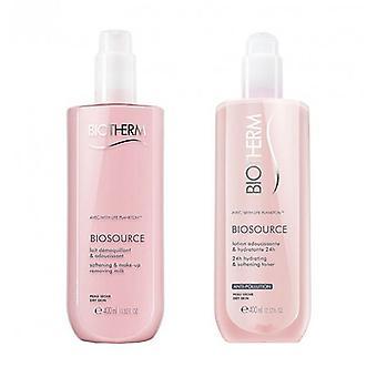 Make up Remover Biosource Duo Biotherm (2 ks)