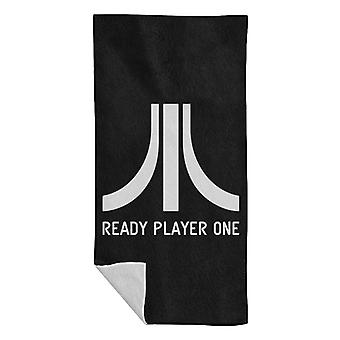 Atari Logo Ready Player One Beach Towel