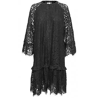 b.young Black Lace Dress