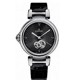 Edox kellot LaPassion Open Heart Naisten Watch Automaattinen 85025 3C NIN