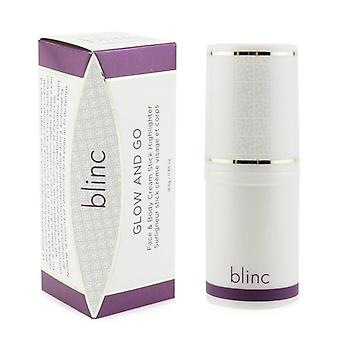 Blinc Glow And Go Face & Body Cream Stick Highlighter - # 36 Moonlight Gleam - 18.5g/0.65oz